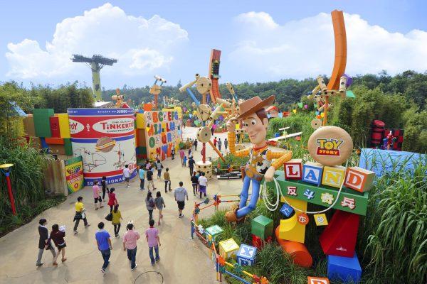 Toy Story Land portfolio image