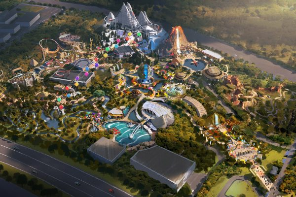 BBC Earth Theme Park portfolio image