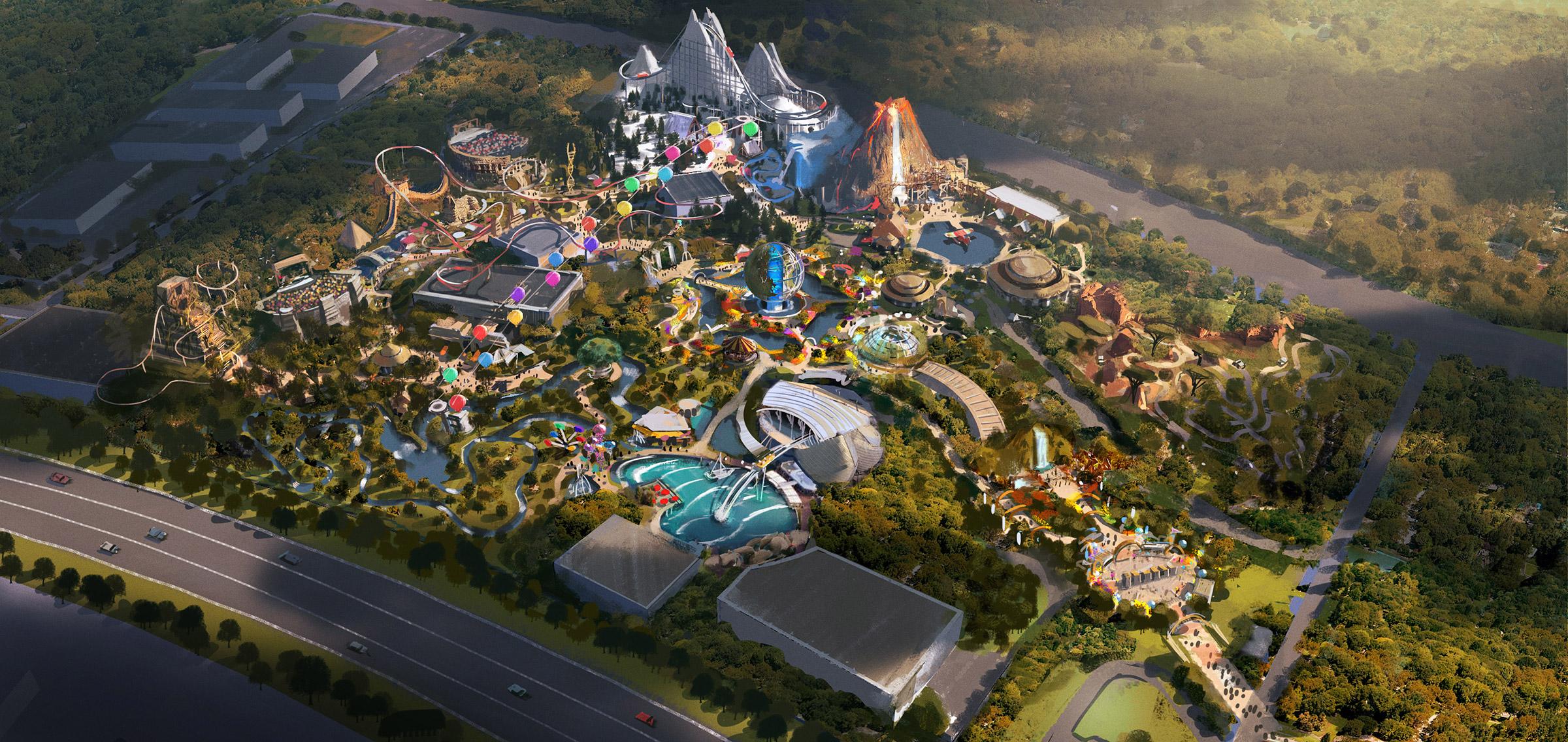 BBC Earth Theme Park