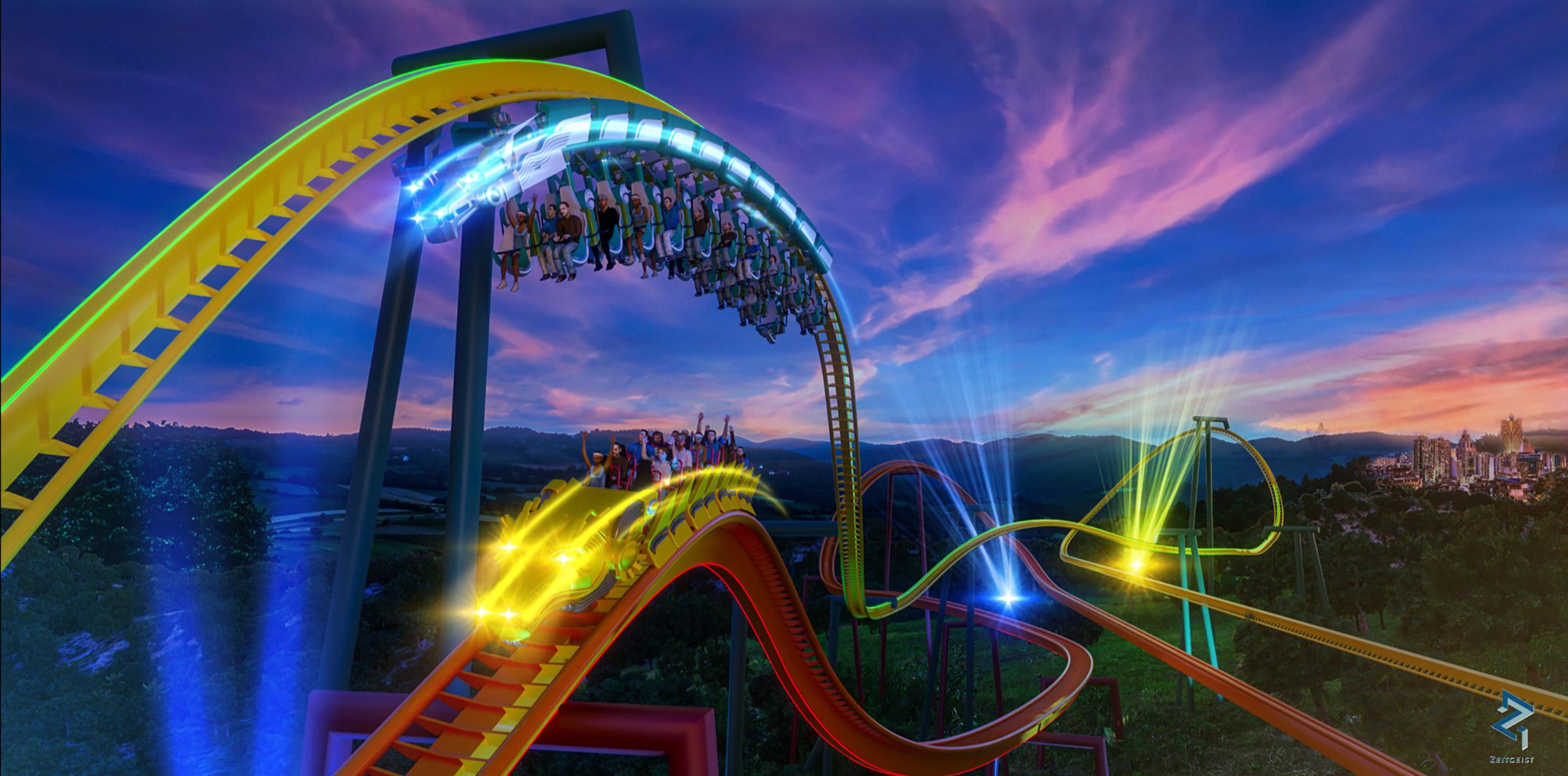 Space Race Roller Coaster