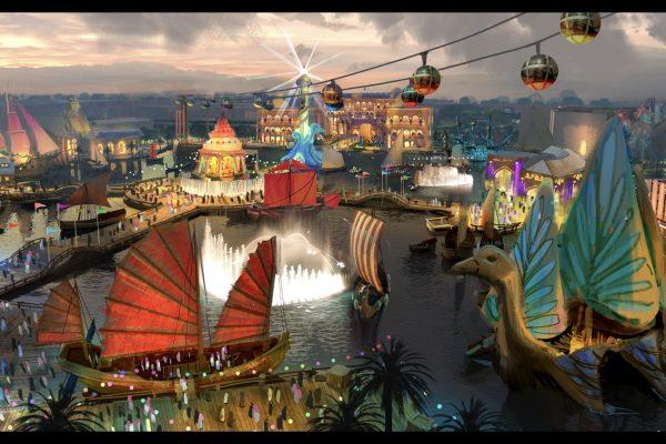 Saudi Arabia Theme Park portfolio image