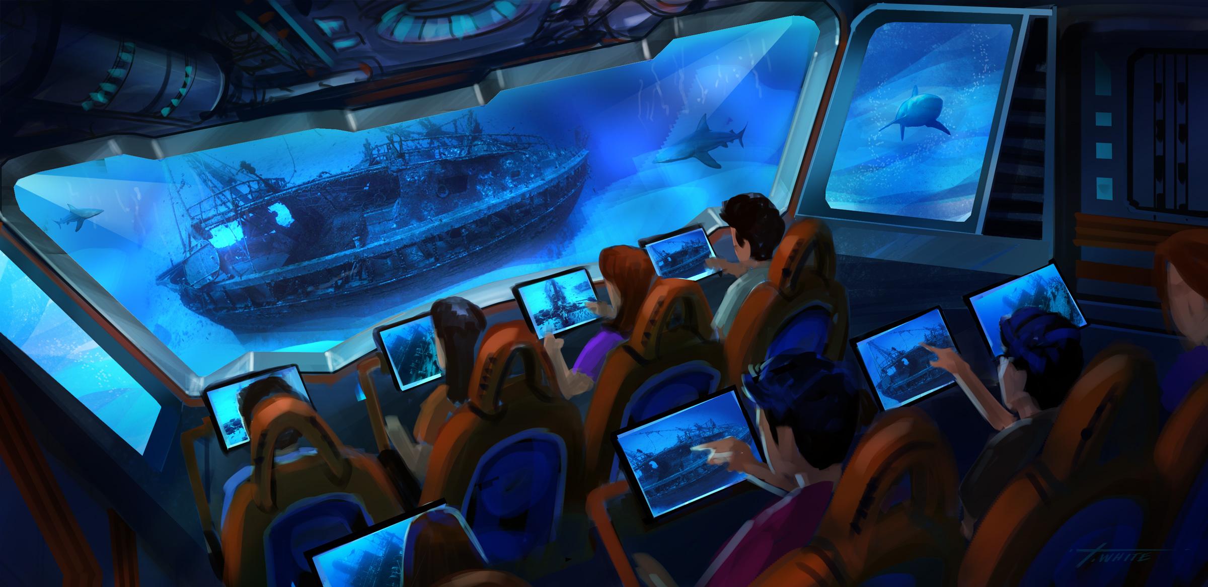 Dive! Interactive Simulator Ride