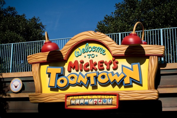 Mickey's Toontown portfolio image