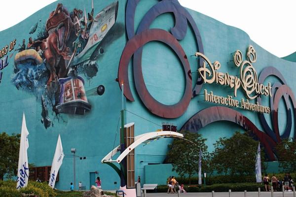 DisneyQuest portfolio image